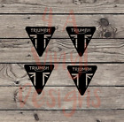 Triumph motorcycle retro tank decal vinyl sticker window £6.83 GBP on eBay