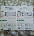 LOT OF 2 iHome Control SmartPlug Outlet Android iOS 4 Wink Nest Homekit