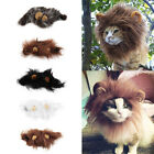 Pet Costume Lion Mane Wig for Cat Halloween Christmas Party Dress Up With Ear VE