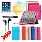 Cute Magnetic Smart Folio Leather Case Cover Stand For iPad Air 1 Mini 1 2 3 4