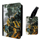 Transformer Bumblebee Printed Luggage Tag & Passport Holder - T2797