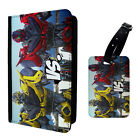 Transformers Printed Luggage Tag & Passport Holder - T2796
