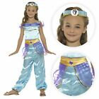 Girls Arabian Princess Aladdin Fancy Dress Costume Bollywood Fairy Child Jasmine