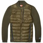 new mens L NIKE tech fleece aeroloft bomber jacket loden/cargo khaki 678267 $300