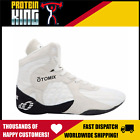 OTOMIX STINGRAY WHITE SHOES FLAT SOLE HIGH TOP GYM TRAINING MMA FIGHTING LIFTING