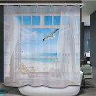 72x72inch Bathroom 3d Shower Curtain Waterproof Polyester Fabric Home Decor New