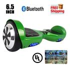"""UL2272 Listed Bluetooth 6.5"""" Hoverboar Self Balancing Wheel Electric Scooter"""