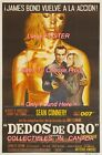"GOLDFINGER 1964 James Bond 007 DEDOS DE ORO = POSTER CHOOSE FROM 7 SIZES 19""-36"" $68.88 CAD"