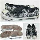 Black with Sequins Size Mens 7 Womens 9 Converse All Star Chuck Taylor Sneakers