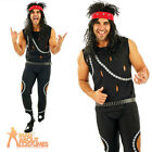 Mens Glam Rocker Costume 1980s Punk Kiss Fancy Dress Outfit