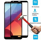 9H HD Full Cover Guard Tempered Glass Screen Protector Film For LG G6 2017