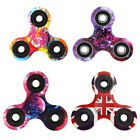 Painting UK Flag Galaxy Finger Hand Spinners Fidget Releif ABS Kid EDC Gift Toys