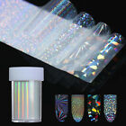 Holographic Starry Nail Foil Holo Glitter Nail Transfer Stickers Paper Decor