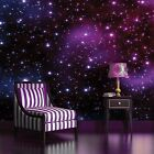 WALLPAPER NON WOVEN MURAL PHOTO FOTOTAPETE SPACE GALAXY STARS COSMOS SKY 177VE