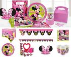 Minnie Mouse Happy Helpers Birthday Party Tableware Decorations Plates Napkins