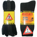 CHOOSE X PAIRS MENS HEAVY DUTY WORK BOOT SOCKS ASSORTED COLOR BLACK SIZE UK 6-11