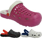 Womens Ladies Mens Holiday Beach Kitchen Hospital Slippers Flip Flop Clogs Sizes
