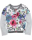 Deux par Deux Girls' Printed Cardigan In the Mood, Sizes 7-12