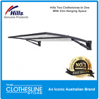 NEW Hills Large Double Folding Wall Mounted Clothesline Supa Fold Duo