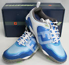FootJoy Freestyle Golf Shoes - White Electric Blue - #57340