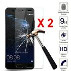 2X Tempered Glass Film Screen Protector For HUAWEI Ascend P8/P8 Lite P9 P10 Plus