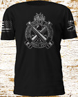 Gun Springfield Armory Firearm USA FLAG Army Replica Grunt Style Sleeve T-shirt image