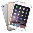 Apple iPad Mini 3 16GB 64GB 128GB Silver Gold Retina Display WiFi &amp; 4G Unlocked <br/> 5th Anniversary Sale Now 30% Off on all Phones &amp; Tablet