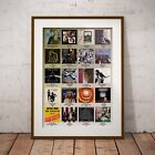 The Best Selling Albums The 1970s Three Print Options or Framed Poster EXCLUSIVE