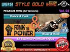 82 NEW SUPER STYLES Dance Funk & Blues Rock Wersi Pegasus Wing ED° 2017