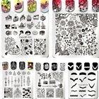 Born Pretty Nail Art Stamping Plates Image Stamp Stencils Templates
