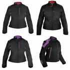 Oxford Girona 1.0 Ladies Textile Motorcycle Jacket Waterproof Bike Jacket Womens