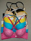 Super Padded 2 Sizes Up Enhancing Push-Up Plunging Molded Cup Bra 32B-40C