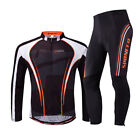 Bike Jersey Suits Men's Cycling Jersey Gel Padded Pants Quick Dry Breathable