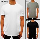 NEW 3 PACK MENS PLAIN CREW NECK TSHIRT 150GSM CASUAL GYM WORK SPORT CASUAL BASIC