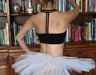 Lady girl woman summer beach dance yoga fitness bra top with racer back
