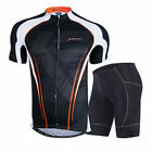 Bicycle Wear Uniforms Men Cycling Jerseys 3D Silicone Padded Shorts Bike Sets