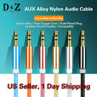 LOT Gold 3.5mm Male to Male Car Aux Auxiliary Cord Stereo Audio Cable for iPod