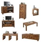 Jakarta Mango Living Room Furniture | Drawers TV Unit Cube Nest Coffee Table