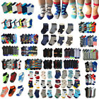 1~20dozens Baby Toddler Boy Men Mixed Assorted Colors Ankle Socks Wholesale Lots
