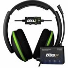Turtle Beach Ear Force DXL1 Black/Green Headband Headsets fo