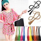 Weave Leather Decorative Knitted Waist Thin Chain Chic Series Waist Rope/Belt