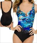 MIRACLESUIT ESCAPE ANIMAL BLUE FOIL MIRACLE SWIM SUIT ONE PIECE SWIMMING COSTUME