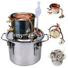 8L-20L Ethanol Water Copper&Stainless Home Alcohol Distiller Moonshine Still