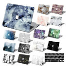 "Hard Rubberized Marble Painting Case For Macbook Pro Air 11 13""15"" Retina 12 +KB"