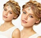 Bohemian Women Pearl Head Chain Jewelry Headband Headpiece Head Band Hair Band
