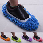 Microfibre Mop Slipper House Floor Foot Sock Shoe Lazy Polishing Cleaning Dust