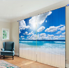 3D Beautiful Sea 4 Blockout Photo Curtain Printing Curtains Drapes Fabric Window