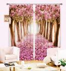 3D Flowers Trees 7 Blockout Photo Curtain Printing Curtains Drapes Fabric Window