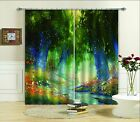 3D Trees Painting Blockout Photo Curtain Printing Curtains Drapes Fabric Window