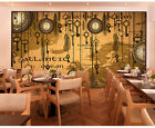 3D Clock key 832 WallPaper Murals Wall Print Decal Wall Deco AJ WALLPAPER
